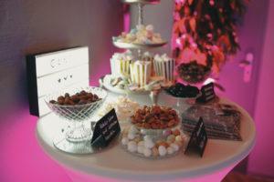 Candy-Bar bei einer Party