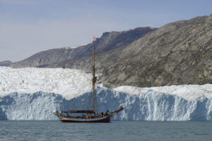 Arved Fuchs in Grönland