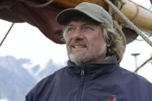 Arved Fuchs ind Grönland